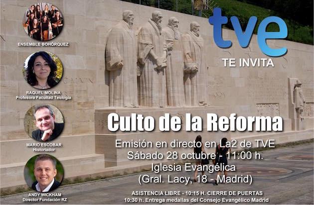 CULTO DE LA REFORMA EN TVE