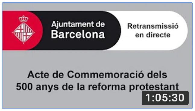 ACTO DE CIERRE EN BARCELONA